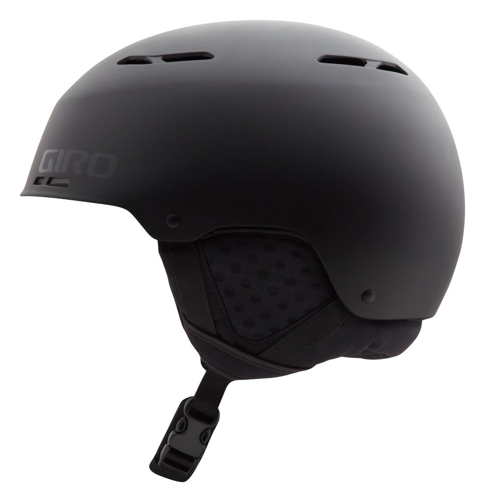 Giro 2013/14 Combyn Winter Snow Helmet (Matte Black - M) by Giro