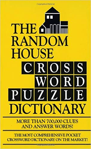 The Random House Webster S Crossword Puzzle Dictionary Stephen