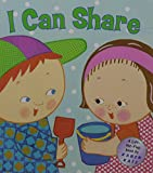 : I Can Share: A Lift-the-Flap Book (Karen Katz Lift-the-Flap Books)