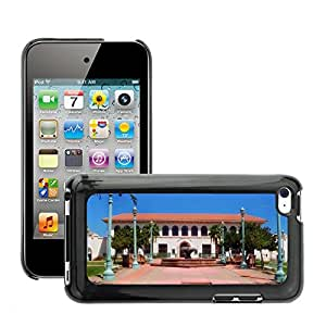 Hot Style Cell Phone PC Hard Case Cover // M00170033 Mansion House Arizona City Hall // Apple ipod Touch 4 4G 4th