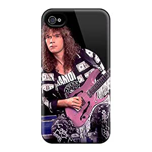Great Hard Phone Cases For Iphone 4/4s With Customized Colorful Mr Big Band Pictures AnnaDubois
