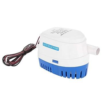 GOTOTOP - Bomba de Agua para baño, 12 V, Sumergible con Interruptor de Flotador: Amazon.es: Deportes y aire libre