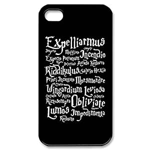 Harry potter magic spell - black Hard Cover Case for iPhone 5 5s case