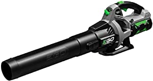 EGO Power 530 CFM 3 Speed Turbo 56-Volt Lithium-ion Cordless Electric Blower - 2.5Ah Battery and Charger Kit