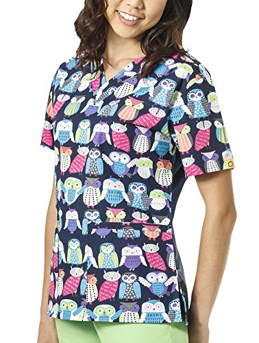 WonderWink Womens Origins Bravo Print