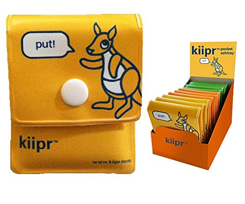 (Kiipr Pouch Pocket Ashtray 10-pack)