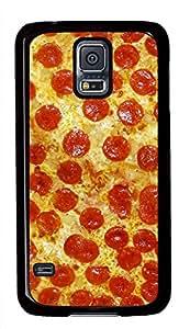 Pizza Pattern Theme Samsung Galaxy S5 I9600 Case