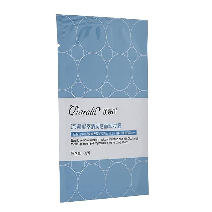 Toallitas desmaquillantes individualmente envueltas en tamaño de viaje Almohadillas desmaquilladoras con vitamina E Limpiador profundo y pañal humectante ...