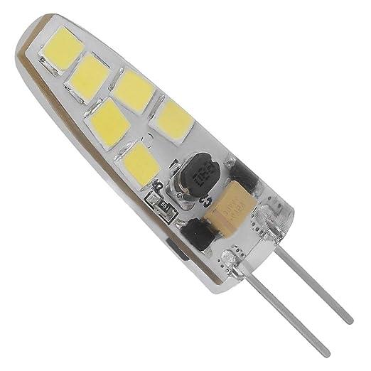 Mini Luz Araña LED Ángulo las LED 7W lámpara G4 No Blanco Reemplace lámparas de ACDC 360 regulable halógenas 12V con COB haz 12LEDs dWCBoQrex
