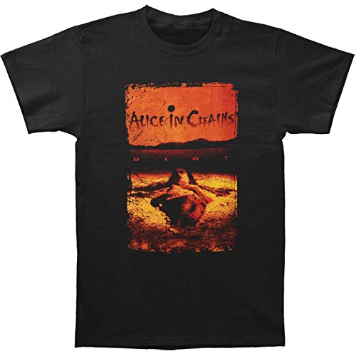 Alice In Chains Men's Dirt Tee T-Shirt Large Black
