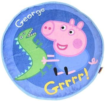 Peppa Pig - Cojín Redondo George, 40 cm (United Labels Ibérica 810550): Amazon.es: Juguetes y juegos