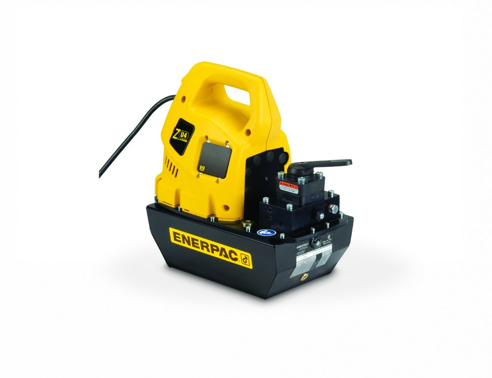 Enerpac ZU4404JB Universal Electric Pump with VM43 Jog Valve Standard 115V and 4 L Usable Oil Capacity