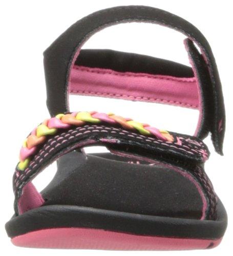 Reef Little Daycamper Bra - Sandalias deportivas Niñas negro - Noir (Black/Neon)