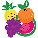 Tutti Fruity - Pineapple, Grapes, Pear and Watermelon Decorations DIY Frutti Summer Baby Shower or Birthday Party Essentials - Set of 20