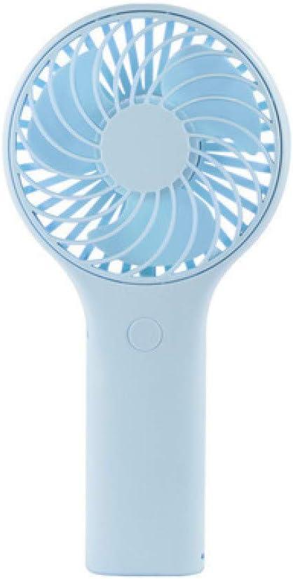 ZhongYi Electric Fan Student Outdoor with Lanyard Portable Desktop Fan Three Colors Optional USB Dual Battery Rechargeable Mini Handheld