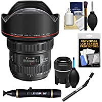 Canon EF 11-24mm f/4.0L USM Zoom Lens with Lenspen SensorKlear Cleaning Kit