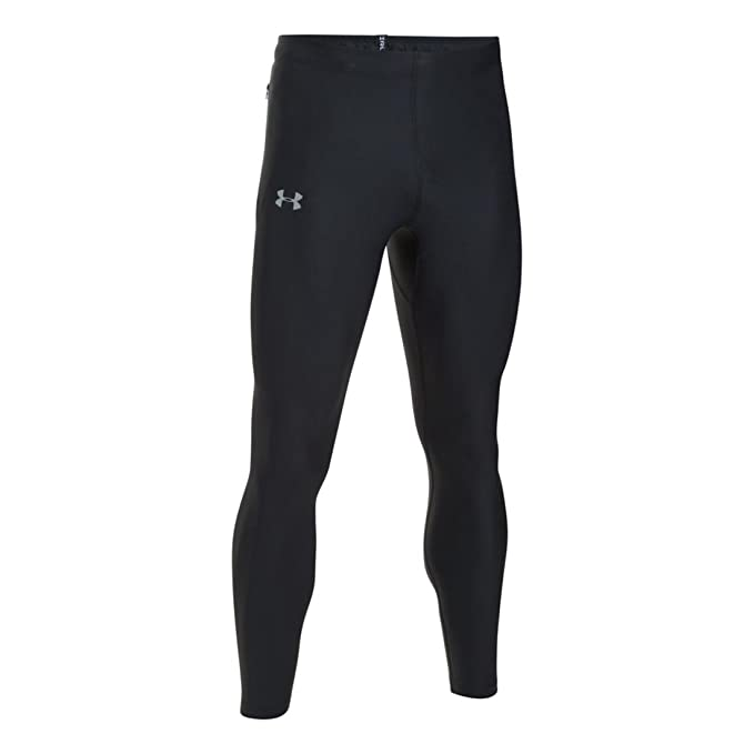 24259d7af6 Under Armour Men's Run True Leggings,Black (001)/Reflective, Small