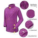 CAMEL CROWN Women Full Zip Fleece Jackets with