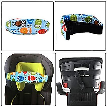 Horolas Kinderwagen Kindersitz Befestigung Riemen Kopf Halter Autositz Befestigung Gurtschutz Kinder 2pc Schlaf Stellungsregler Kinderwagen Baby
