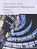 Contemporary Management Science With Spreadsheets 9780324230949