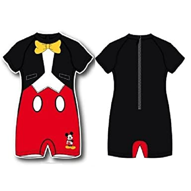 Mickey Mouse Traje de baño Multicolor 4 Años: Amazon.es ...