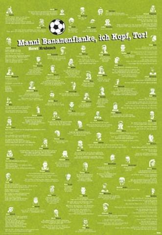 Amazon De 1art1 35029 Fussball Dumme Spruche Poster 91 X