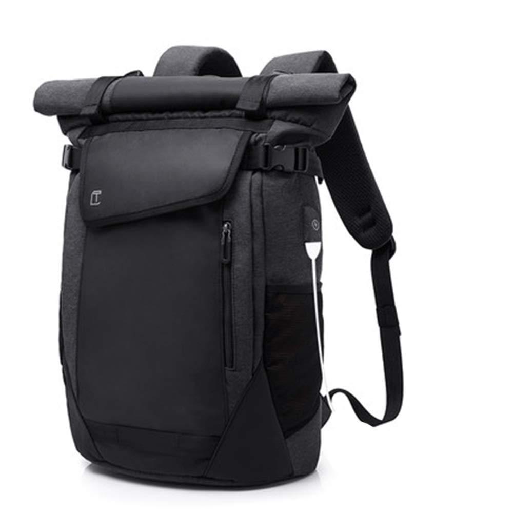YONGMEI アウトドアバックパック - バックパック軽量大容量 (色 : ブラック, サイズ さいず : 48cm*31cm) ブラック 48cm*31cm