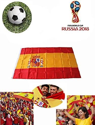 37YIMU - Bandera nacional Bandera España 90 x 150 cm: Amazon.es: Jardín