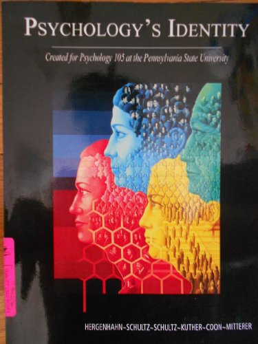 Psychology's Identity: Created for Psychology 105 at the Pennsylvania State University