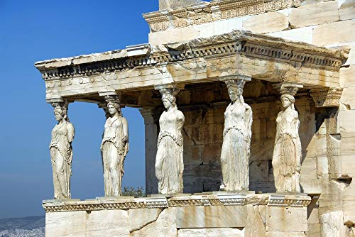 Home Comforts Laminated Poster Landmark Athens Greece Acropolis Parthenon Temple Vivid Imagery Poster Print 24 x -