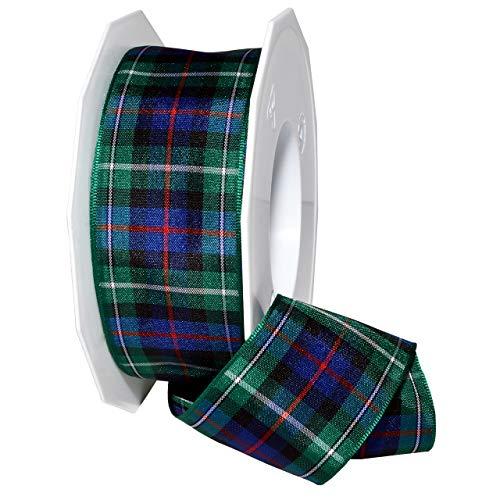 Morex Ribbon 975 Edinburgh Ribbon, 1.5 inches by 27 Yards, Mackenzie Tartan