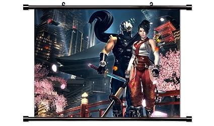Amazon.com: Ninja Gaiden Videogame Fabric Wall Scroll Poster ...