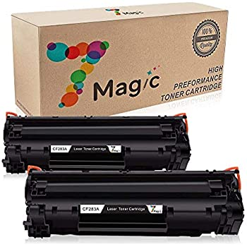 Amazon Com 7magic 4 Pack High Yield Compatible Toner