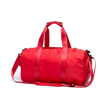 16f5626a5455d6 Amazon.com | PinPle Sport Gym Bag Travel Duffel Bag with Shoe Compartment  and Dry Wet Separation Layer for Men & Women (Fashion Red) | Sports Duffels
