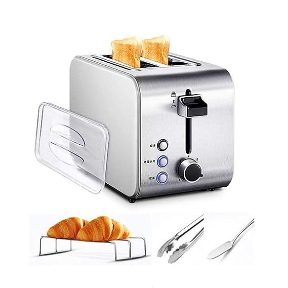 MIAO. 2 Slice Toaster, 750W Acero Inoxidable Tostadora - 7 ...