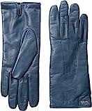 COACH Women's Leather Basic Gloves Denim Gloves