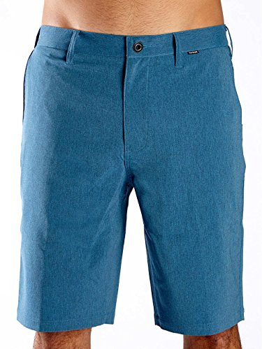 Hurley Dri-Fit Heather 19', Color: Light Photo Blue, Size: 30