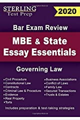 Sterling Test Prep MBE and State Essays Essentials: Governing Law for Bar Exam Review Paperback