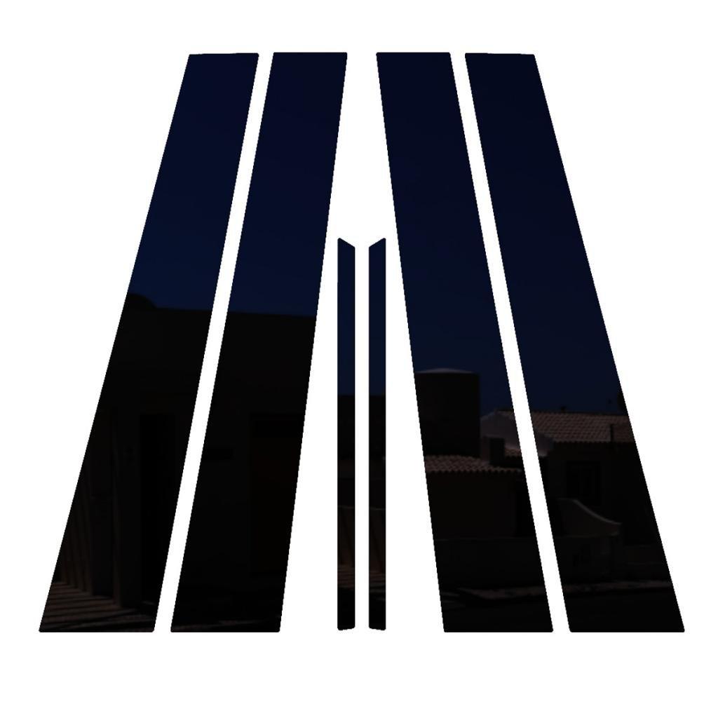 Ferreus Industries Piano Black Pillar Post Trim Cover fits 2000-2006 Lincoln LS All Models PIL-110-GB-FER2017