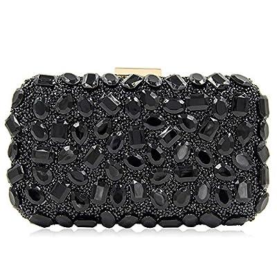 Women Rhinestone Evening Bags For Party Clutch Purse Handbag