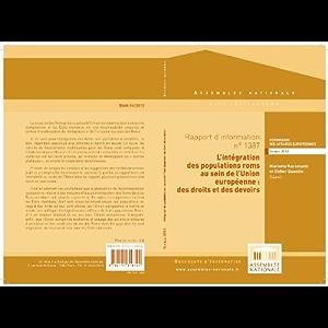 Rapport d'information « L'intégration des populations roms au sein de l'Union européenne : des droits et des devoirs…