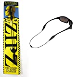 CABLZ Sunglasses Glasses Holder ZIPZ Black 12'' Adjustable Eyewear Retainer Sport