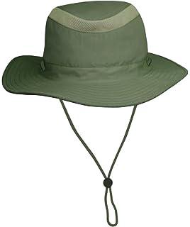 b7b2fe266627e6 Unisex Safari Sun Bucket Hat with Hidden Cash/Card Pocket - Lightweight -  100%