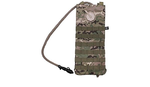 MFH - Max Fuchs MOLLE - Bolsa de hidratación (2,5 l), diseño de camuflaje