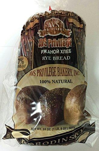 Russian Borodinsky Rye Bread Pack of 2