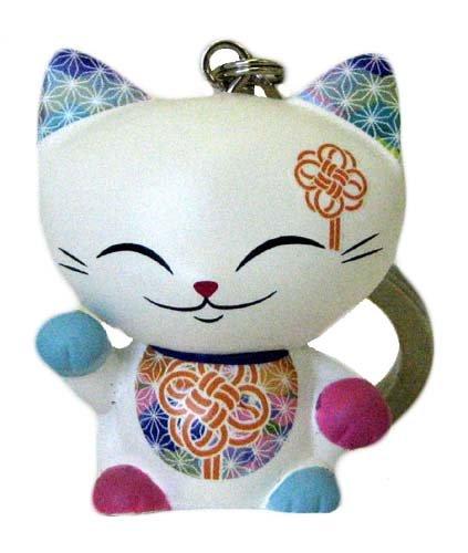 Kimmidoll 3628729031 - Llavero mani the lucky cat 12: Amazon ...