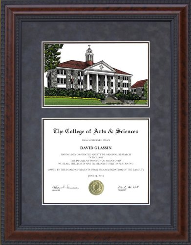 (Wordyisms Diploma Frame with James Madison University (JMU) Campus Lithograph - 18 x 24 Vertical (Portrait) Diploma)