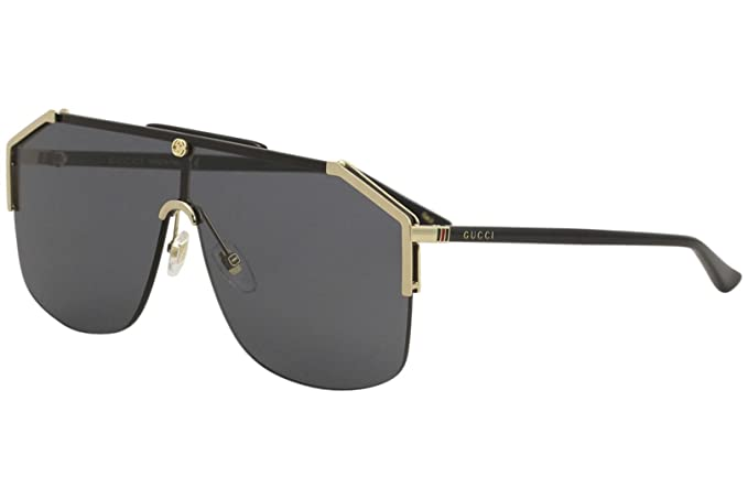 de76c0befa Gucci GG0291S Black/Blue Lens Sunglasses: Amazon.com.mx: Ropa ...