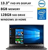 Dell XPS 13.3-Inch Laptop (2.2 GHz Intel Core i5 Processor, 8 GB RAM, 128 GB SSD, Windows 10 Home), Silver
