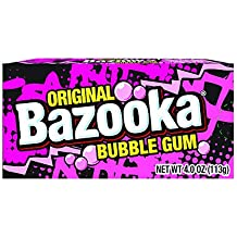 Bazooka Original Bubblegum Party Box, 4 Ounce (Pack of 12)